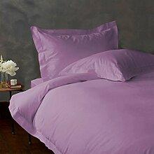 - Bettlaken-Set-4Pc bis zu 38,1cm Deep Pocket 600tc Italienisches Finish Lavendel Farbe UK Betten Größe 100% ägyptische Baumwolle–Durch Paradies Overseas