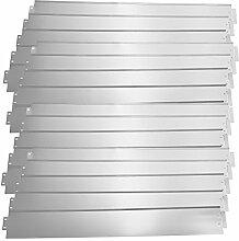 [casa.pro] Rasenkante Metall - 20 x 100cm -