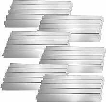 [casa.pro] Rasenkante Metall - 30 x 100cm -