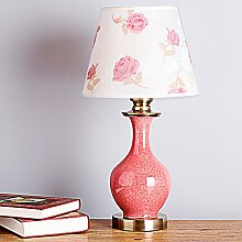 _China Red Box Verpackung Verpackung unabhängige Schlafzimmer Schreibtisch Dekoration, sechs Tischleuchte
