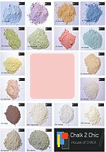 #CP7 - PINK & RED - CHALK 2 CHIC 11oz / 312g POWDER CHALK diy PAINT makes up to 2 Litres of shabby chic eco CHALK FURNITURE PAINT by Chalk2Chic