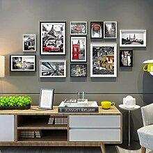 &Dekorative Wände 12 Stück/Sets Collage