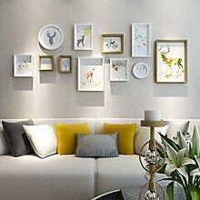 &Dekorative Wände Holz Bilderrahmen, 11 Teile /
