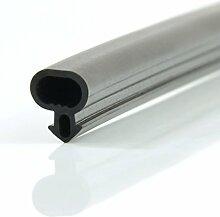 [DQ-PP] 1m Fensterdichtung S-232 PVC Fenster ALU Profildichtung SCHWARZ für Kunststofffenster Gummidichtung EPDM Türdichtung