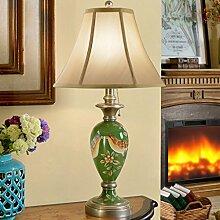 @ EDGE & - Art Continental Lampe Nachttisch Amerikanischen Stil Retro Wohnzimmer Studie Countryside Tischlampe