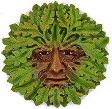 , Eiche, groß, Greenman Dekorative, für den