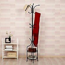 &Einfache Garderobe Garderobe-Boden-stehender