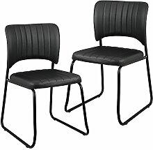 [en.casa] Elegante Designstühle mit