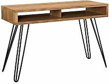 [en.casa] Stylischer Schreibtisch mit 2