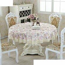 [Europäische Tuch]/Tischdecken/Rundtischdecken/Tischdecke decke/Tischdecken/Spitzen Sie Tischdecke/Tischdecke decke-A 150x150cm(59x59inch)