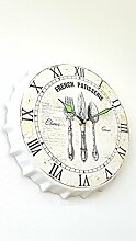 [fm-electrics] Wanduhr Landhaus Stil Vintage Uhr