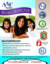 (Fre E Kissenbezug) Doppel Reißverschluss Bett Bug Proof Matratze Cover Protector encasement|absorbent|anti allergy|anti Staub mite|anti bakterielle nicht noisy|ease asthma|itchy feelings|allergens| alle UK Größen