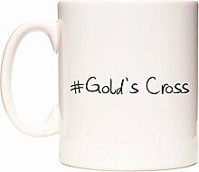 #Gold's Cross Becher von WeDoMugs