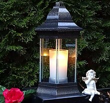 ♥ Grablaterne Grablampe Grablicht 30,0cm incl.