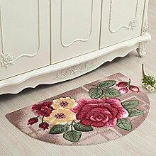 (Halbrund) 50*80 cm Home Moderne/Teppich/halbrunde