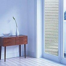 [Hoho] 2D transparent Sichtschutz Statische Fenster Film Glas Film Home Decor DIY Abmessungen 92x 50cm