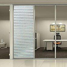 [Hoho] Sichtschutz 2D transparent Statische Fenster Glas Film Home Decor, 0.92mx25m