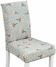 [Hyacinths] Stylish Esszimmer Stuhl Schonbezüge Decken für Stuhl