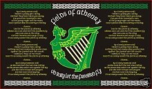 """""""Irish Fields of Athenry""""-Flagge, als Dekoration, 1,5 x 0,9 m (in englischer Sprache)"""
