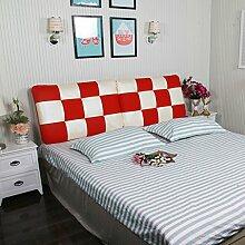 # KAIKAI @ - Bedless Soft Cap Bett Kissen Doppelbett Bett Kopfbedeckung Leder Rückenlehne Kissen