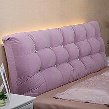 # KAIKAI @ - Nachttisch weiche Tasche Tuch Bett Kopf Deckbett doppelte Kissen große Kissen Kissen Kissen