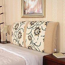 # KAIKAI @ - Stoffbett Matratze Bett Rückenlehne Matratze weiche Bett Abdeckung Kapuze abnehmbare waschbare Rückenlehne Kissen