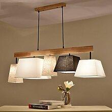 %Lampe Holz Pendelleuchte Esstisch Deckenleuchte