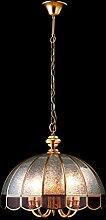 %Lampe Kupfer Glas einzigen Kopf Restaurant Lampe