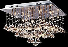 %Lampe Moderne K9 Kristall Regentropfen