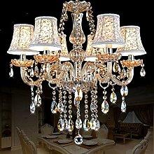 %Lampe Moderne Kristall Kronleuchter Beleuchtung