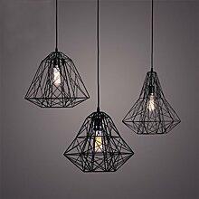 %Lampe Pendelleuchte Beleuchtung Vintage Polygon