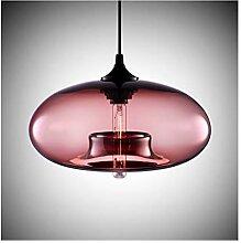 %Lampe Pendelleuchte Modernes Design Glas Shades