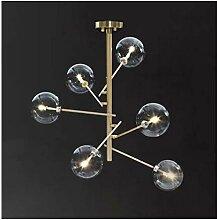 %Lampe Postmodern Glaskugel Kronleuchter