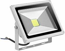 [ LED Fluter 20W Außenleuchte Kaltweiß/Warmweiß ] LED Flutlicht LED Außenleuchten LED Flutlichtstrahler LED Strahler AC 85 - 265V Wandstrahler LED Scheinwerfer (kaltweiß *4)