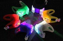@Lichtleiste Freies Verschiffen das sechste Erzeugungs-LED-Fahrrad-Licht-Fahrrad Cy ( Farbe : C )
