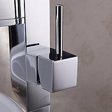 ?Moderne Badezimmer Waschbecken Mischbatterie mit Farbwechsel LED Wasserfall Wasserhahn (Gro?)?