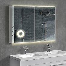 [neu.haus] Design LED-Spiegelschrank Wandspiegel Badspiegel
