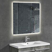 [neu.haus] Design Wandspiegel Badezimmerspiegel mit LED Beleuchtung