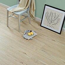 [neu.haus] Laminat Vinyl-Boden Eiche gekälkt 1m² - PVC-Design-Bodenbelag mit gefühlsechter Holz-Struktur stark strukturiert Planken zum Kleben - 4 Dekor Dielen = 1,114 qm