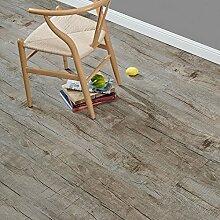 [neu.haus] Laminat Vinyl-Boden Eiche stonewashed 1m² - PVC-Design-Bodenbelag mit gefühlsechter Holz-Struktur stark strukturiert Planken zum Kleben - 4 Dekor Dielen = 1,114 qm
