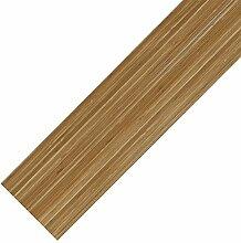 [neu.haus] Vinyl-PVC Design Bodenbelag - 0.976qm - selbstklebend - Bambus matt - Laminat / Dielen