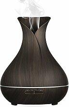 [New Release]Aroma Diffuser,Simpeak 400ML Holz Vasen-Stil Essential Oil Diffusor LED Air Humidifier mit 7 LED Farben für Schönheitssalon,SPA,Yoga,Schlafzimmer,Wohnzimmer,Konferenzraum