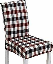 [Plaid] Stylish Esszimmer Stuhl Schonbezüge Stuhl Hüllen Stuhl Kissen