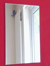 , rechteckig, 40 cm x 30 cm, 3 mm dicker Spiegel