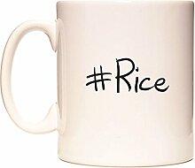#Rice Becher von WeDoMugs