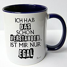 ★★Riesen Auswahl★★ Tasse Spruch Motive Fun Premium Geschenk Keramik, Original Sunnywall ® Geschenkidee (43 verstanden egal)