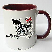 ★★Riesen Auswahl★★ Tasse Spruch Motive Fun Premium Geschenk Keramik, Original Sunnywall ® Geschenkidee (29 Catwoman)
