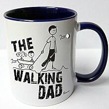 ★★Riesen Auswahl★★ Tasse Spruch Motive Fun Premium Geschenk Keramik, Original Sunnywall ® Geschenkidee (59 The Walking Dad)