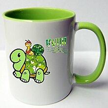 ★★Riesen Auswahl★★ Tasse Spruch Motive Fun Premium Geschenk Keramik, Original Sunnywall ® Geschenkidee (44 Schildkröte huii)