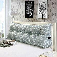 & SFKZ @ - Dreieck Kissen Doppelbett Sofa Kissen Bett Rückenlehne Kissen auf dem Be